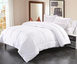 Toodou Soft Thick Quilt Down Alternative Queen Comforter For