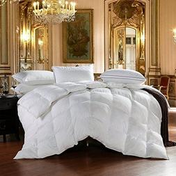 Egyptian Bedding All-Season Queen Size Luxury Siberian Goose
