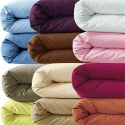 SPLIT SHEET SET 5 PIECE SET ALL SOLID COLORS & SIZES 1000 TC