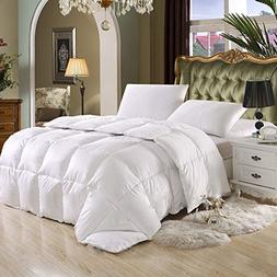 SUPER LUXURIOUS FULL / QUEEN SIZE Goose Down Alternative Com