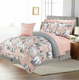 Sweet Home Collection Comforter 9 Piece Printed Fashion Soft
