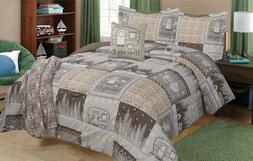 Twin, Full/Queen, or King RV Camping Motorhome Bedding Comfo