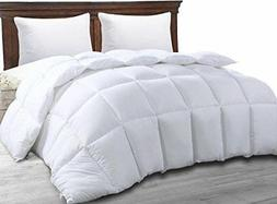 Utopia Bedding Ultra Plush Hypoallergenic, Siliconized fiber