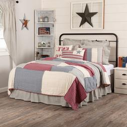 VHC Hatteras Patch Americana Quilt