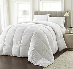 Chezmoi Collection White Goose Down Alternative Comforter, F